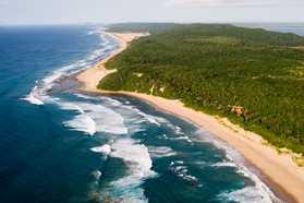 Thonga Aerial view